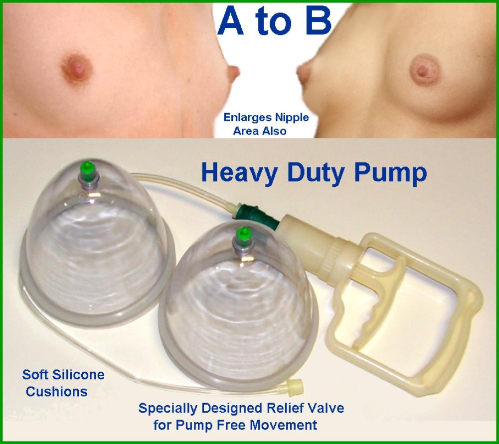 Supper breast pump for men